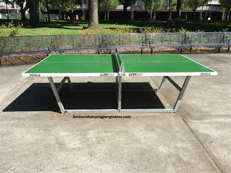 joola outdoor ping pong table joola city outdoor ping pong table best outdoor ping