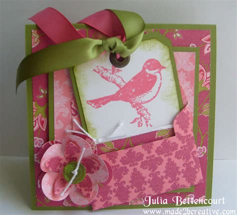 Creative Handmade Birthday Cards - stin up made 2 b creative