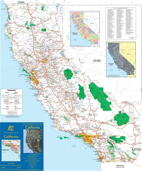 map of california usa with cities large detailed map of california with cities and towns