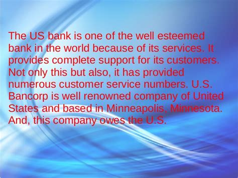 us bank help us bank customer service toll free numbers