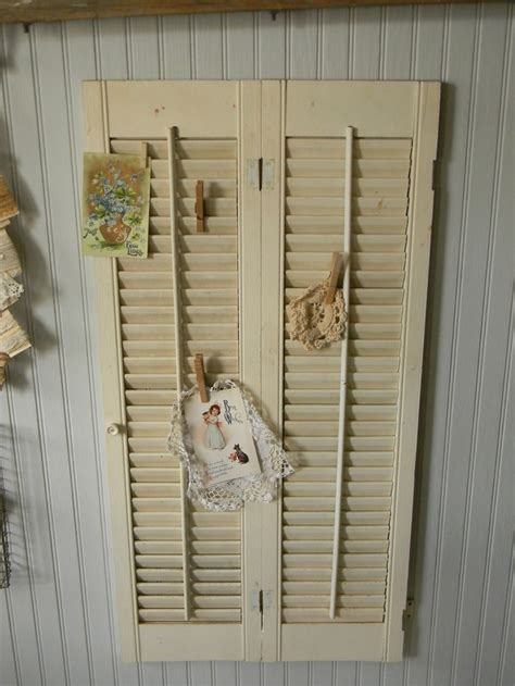 repurposed shutter home ideas pinterest