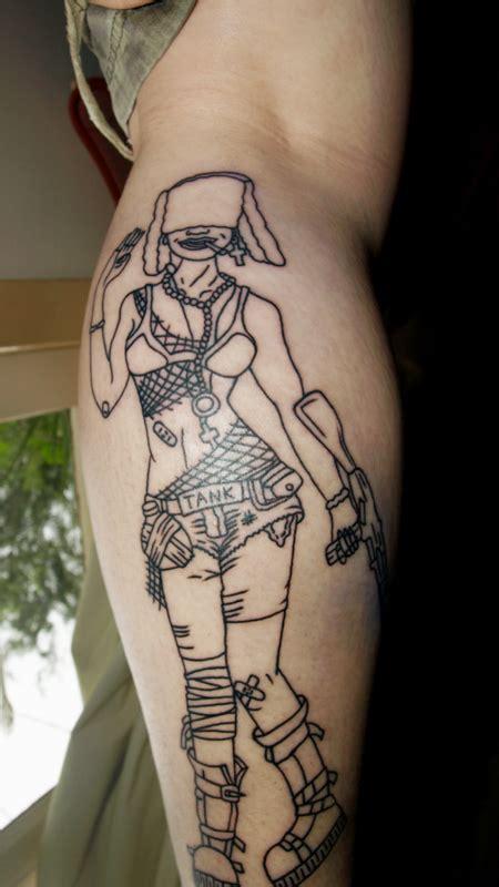 tank girl tattoo tuesday tank