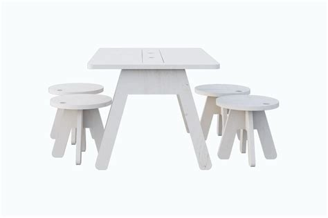 kutikai peekaboo table and 4 chair set diddle tinkers
