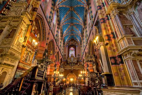 Home Interior Prints by Quot St Mary S Basilica Krakow Poland Quot By Armiller007