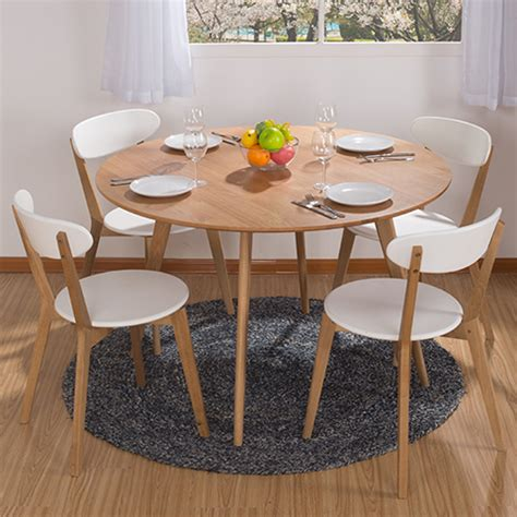 Small Dining Table And 4 Chairs Dining Table Combination Ikea Dining Table And Four Chairs White Small Apartment Nordic