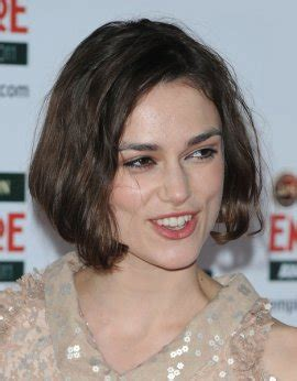 Non Celebrity Curly Diagnal Forward | celebrity hairstyles women keira knightley diagonal forward