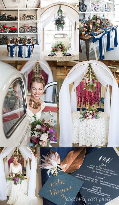 Wedding Arch Navy by Navy Copper Wedding Arch Arch With Candelier Weddings