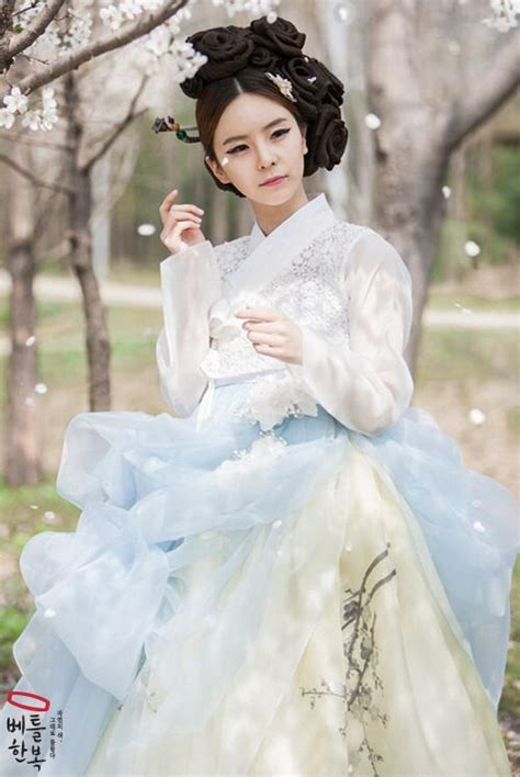 Dress Korea Cherry 한복 hanbok korean traditional clothes dress