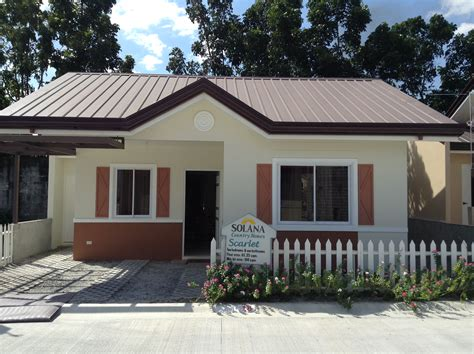 model of bungalow house panga philippines homes panga house and lot for sale