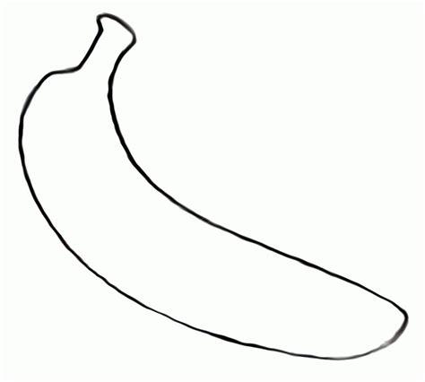 color banana banana color page coloring home