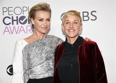 degeneres and portia de up portia de warned against doing stand up again