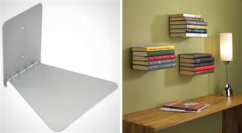 invisible floating bookshelves 15 floating shelves that make the most of your space