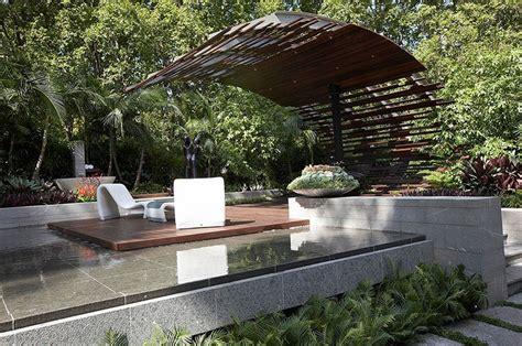 modern landscape design ideas  rolling stone