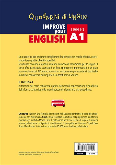 test inglese a1 improve your a1 giunti editore