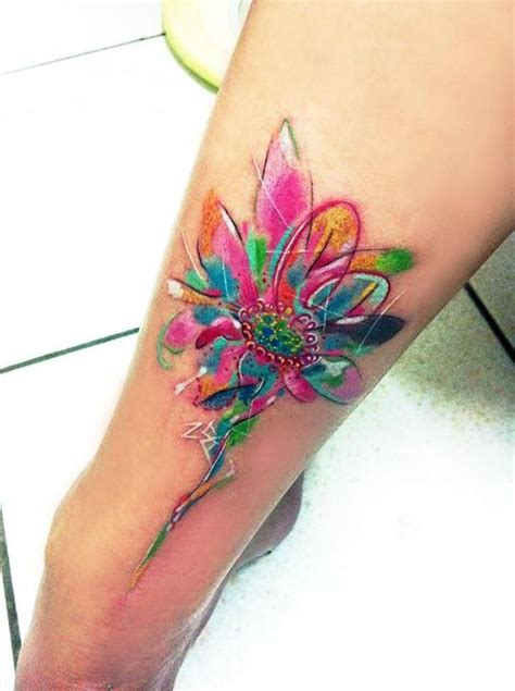 tutorial watercolor tattoo 14 medium size watercolor tattoo designs top famous