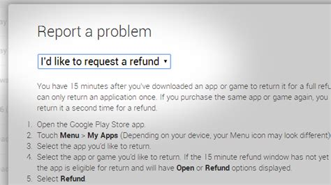 Play Store Refund Time Play Refund Window Seemingly Extended To Two Hours