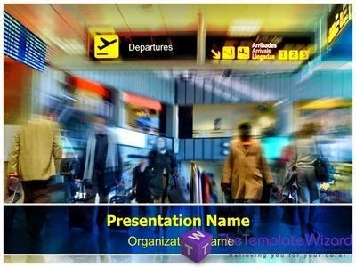 airport powerpoint template travel tourism powerpoint templates on behance