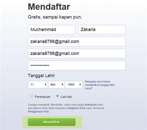 cara membuat pendaftaran yahoo cara mudah membuat mendaftar facebook hanya 10 menit