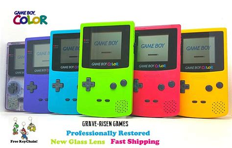 gameboy color ebay restored original nintendo boy color cgb 001