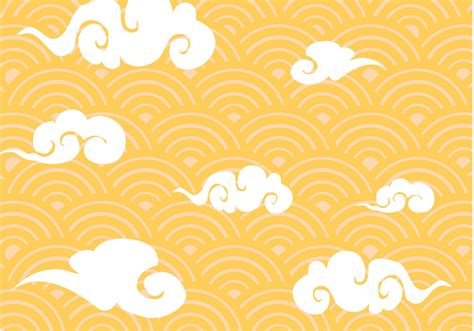 new pattern vector free chinese clouds pattern vector download free vector