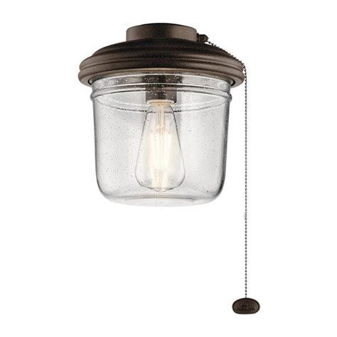 kichler ceiling fan light kit kichler yorke ceiling fan light kit at lowes