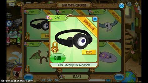 animal jam steunk monocle animal jam rare items day rare steunk monocle