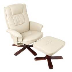 pu leather swivel recliner lounge chair and ottoman buy recliner chairs