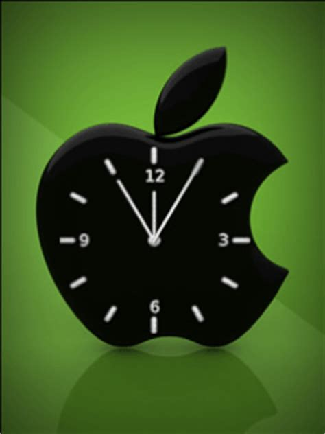 themes clock com nuy theme apple clock theme for java mobile