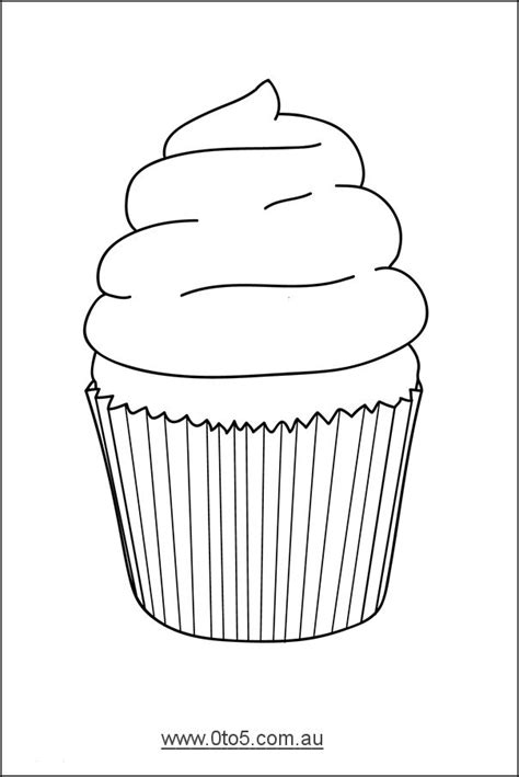 cupcake template to print 14 best cupcake template images on cupcake