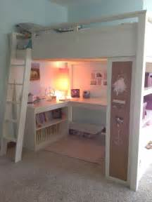 Bunk Bed With Space Underneath S Loft Bed Great Space Saver Rooms Loft Loft Spaces And Space Saver