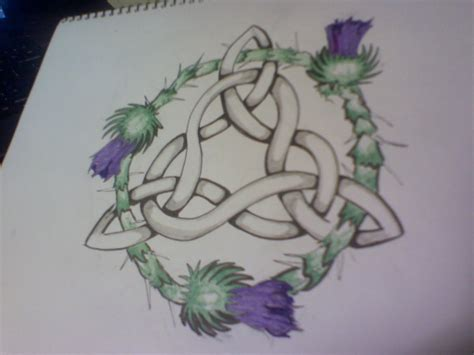 rose and shamrock tattoo celtic knot www imgkid the image kid