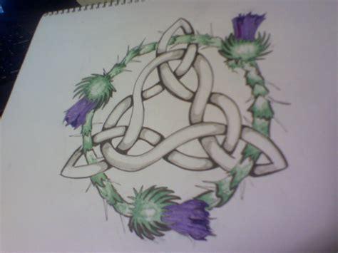 rose and shamrock tattoo celtic knot www imgkid the image kid