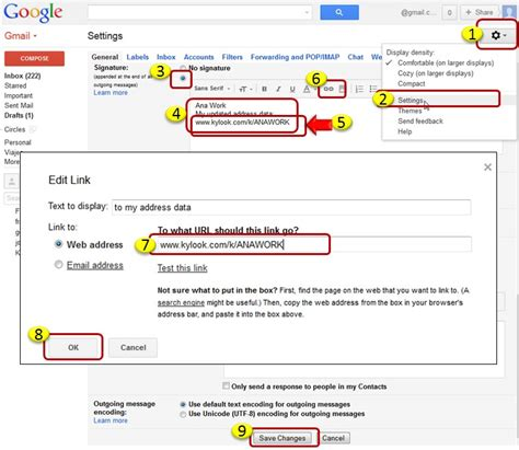 gmail reset link google email signature email signature for general
