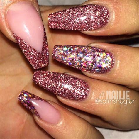 Sparkle Designs On Nails