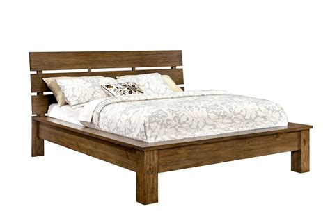 bed frame california king roraima collection cm7251 furniture of america california