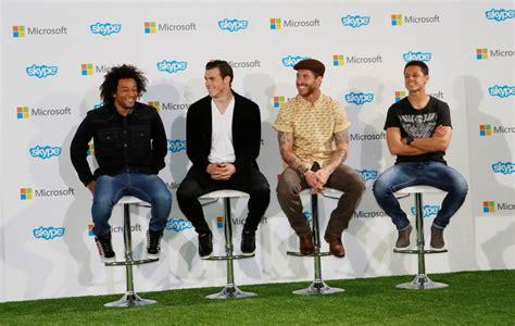 Microsoft Real Madrid real madrid microsoft lancia quot el album de la afic 236 on quot il