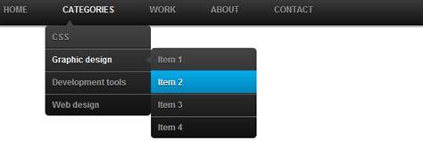 adding css3 multi level drop menu for css3 dropdown menu