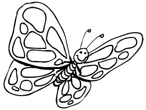 Coloring Pages Of Butterflies by Butterfly Coloring Pages Free To
