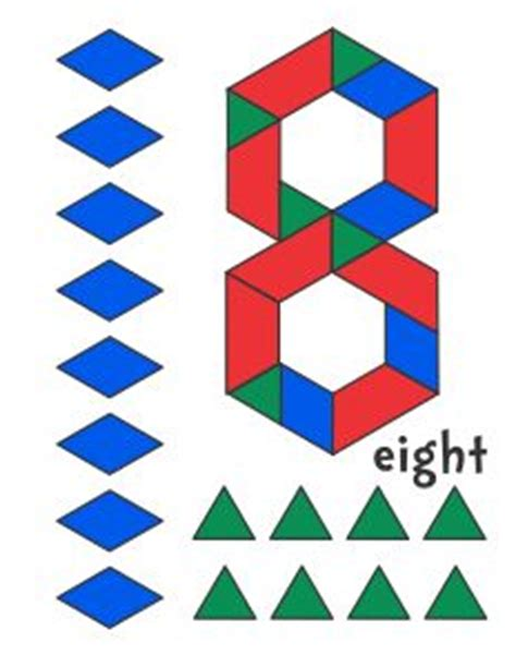 numbers with pattern blocks 1000 images about kids pattern blocks on pinterest