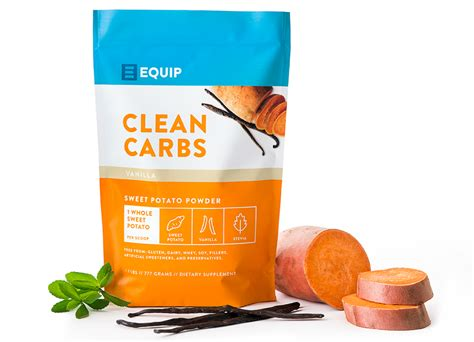 carbohydrates sweet potato clean carbs sweet potato powder equip