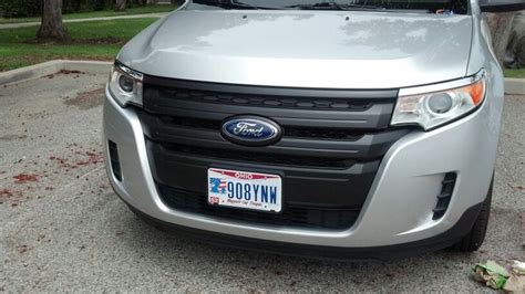 2010 ford edge sport grill plasti dip ford edge grille 5 coats 15 min time