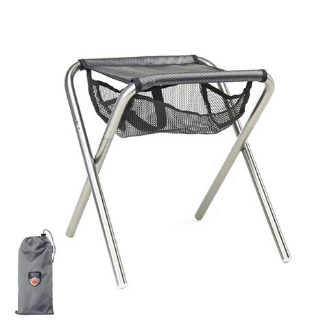 Compact Folding Chair by Grand Trunk Collapsible C Stool Compact Folding Travel