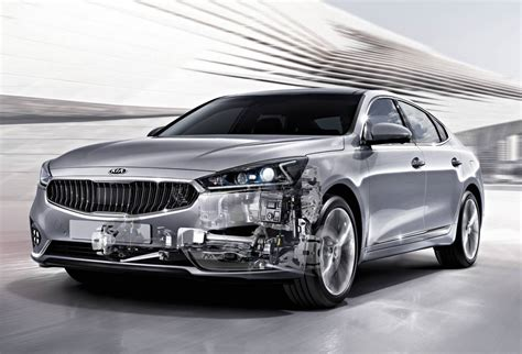 Kia Cars Kia Announces Eight Speed Auto Debuts On 2017 Cadenza