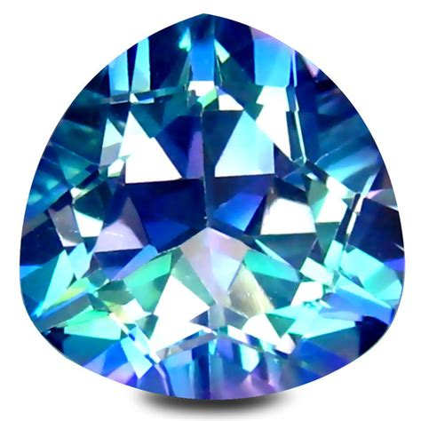Topaz 2 69 Cts blauwe mystic topaas 4 69 cts