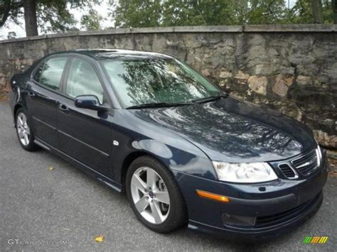 2007 nocturne blue metallic saab 9 3 aero sport sedan