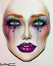 Wedding Flower Bouquet Makeup Face Chart 2686185 Weddbook