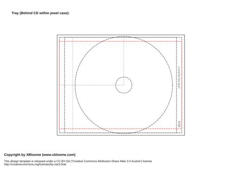 printable cd template template out of darkness