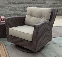 stuhl outdoor outdoor wicker swivel chair sonoma