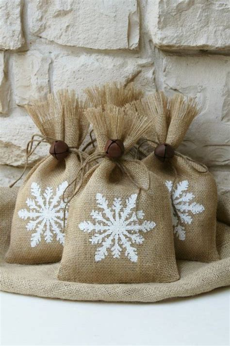 burlap christmas decorations ideas