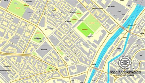 printable map zurich zurich z 252 rich switzerland printable vector street full